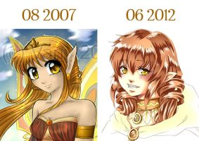 2007 vs 2012 by Valeyla