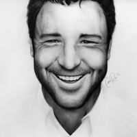 Russell Crowe by littleshirt