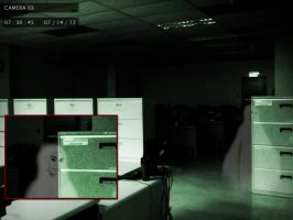 Ghost at the Office by MrDraftsman