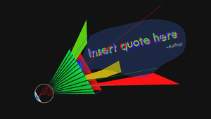 Insert Quote here wallpaper by TheAceOverlord