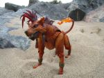Red xiii by Candyfloss-Unicorn