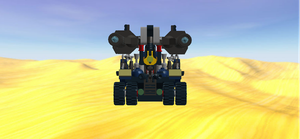 Cargo Stacker Assault Droid Front View by mafia279