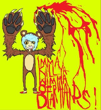 bear hands. by wolfpack69