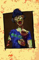 zombie by Mutant-Cactus