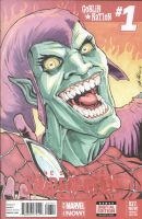 Green Goblin sketch cover by shinlyle