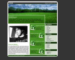 BLOG Template by Piengie