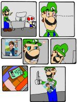 Luigi hates Justin Bieber 1 by gamerman77