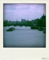 Extract of Paris #4, View from Senna's river, Pola by Kayleyn