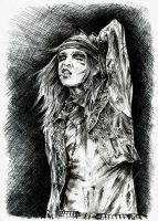 Andy Biersack by lilhydra