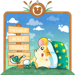 Hamha Rescue - Twinkle by TamarinFrog