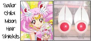 Sailor Chibi Moon Hair shields by Topaz-Jewelry