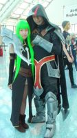 C.C from Code Geass and Talon from LoL by trivto