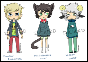 Random Adoptables 1 - CLOSED by Dichord