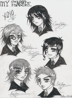 MCR-Sketches by LoveofAngels