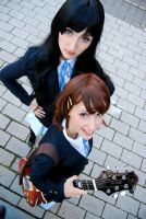 yui and mio II by white---butterfly