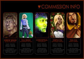 Digital Commission Info by Pyratesque
