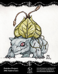 Pokedex Project: Bulbasaur by lmerlo72