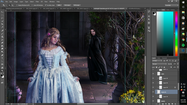 Midnight fairytale preview by Rachgraceh