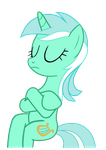 Vector Lyra Sitting - Slice of Life by Will290590