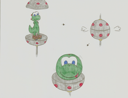 The Yoshi Ball by iKYLE
