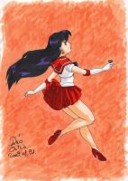 Sailor Mars by Seeraholic