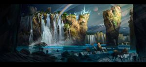 waterfalls_2 by IvanLaliashvili