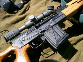 The Dragunov close up by Methvell