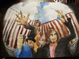 Hey guys we're the Pink Floyd by psychedelic-cookie
