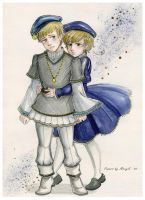 APH Su and Nor by MaryIL