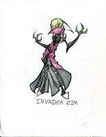 Invader Zim - Irken elite by winddragon24