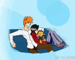 BLEACH -IchiRuki- by puricoXD