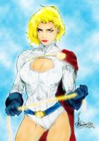 Power Girl by PsychedelicHeroin