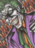JOKER SKETCH CARD by AHochrein2010