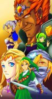 Ocarina of Time by AzureBladeXIII