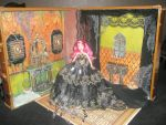 Halloween Barbie Room by grimdeva