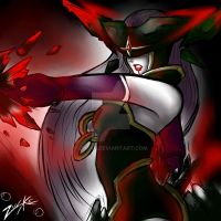 Bloodstone Lissandra's blood chilling fury by Zuske