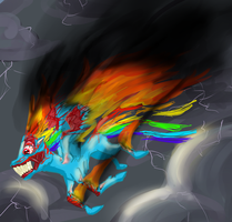FLAMEBOW CRASH by stagworks