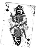 Queen of Spades by The-demons-heart
