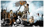 Rey Leading The People by nguy0699