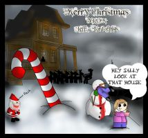 Merry demented Christmas by Jeff-LordofPigs