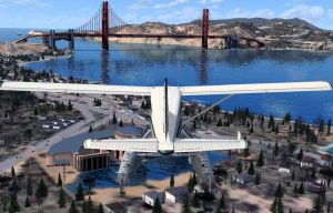 flight sim over SF by puddlz