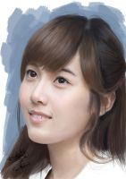 Painting SNSD Jessica by aimgallagher