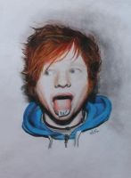 Ed Sheeran drawing by Bluecknight