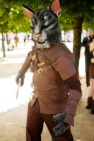 Skyrim cosplay Khajiit by relentlessKay