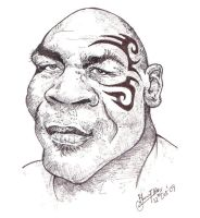 Mike Tyson - Caricature by libran005
