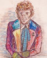 Sixth Doctor - Pastels by sanjouin-dacapo