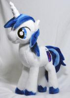 Shining Armor Plush by Cryptic-Enigma