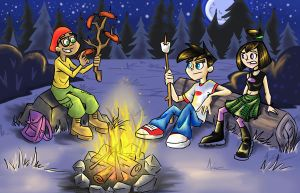 DP:Camping by sharkie19