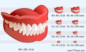 False tooth Icon by medical-icon-set