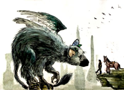 Painted Trico ft. Wander and Agro (2016) by christinak0811